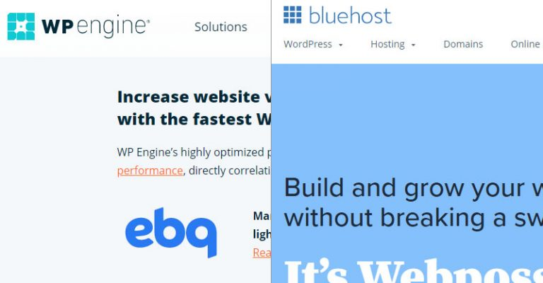 WP Engine Vs Bluehost 2021 – Which Hosting Is Better?